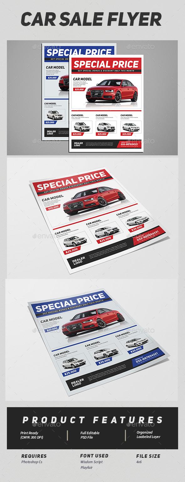 Car Sale Flyer - Commerce Flyers