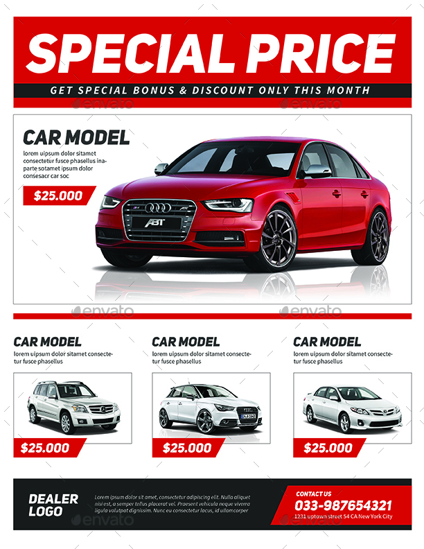 car sale flyer - Mersn.proforum.co