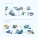 Technical Support, Finance Icons Business Concept - GraphicRiver Item for Sale