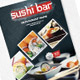 Sushi Menu Flyer - GraphicRiver Item for Sale