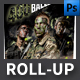 Airsoft Event Roll-up Template - GraphicRiver Item for Sale