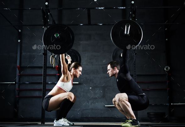 Weightlifting champions - Stock Photo - Images