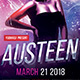 Austeen Party Flyer - GraphicRiver Item for Sale