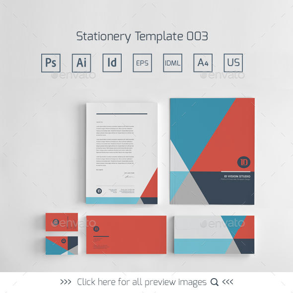Stationery Corporate Identity 003 - Stationery Print Templates