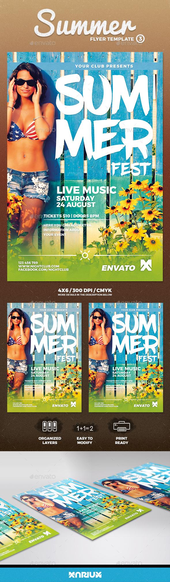 Summer Flyer 3