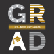 Graduation Invitation - Mono - GraphicRiver Item for Sale