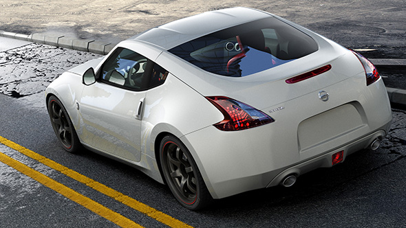 Nissan 370Z - 3DOcean Item for Sale