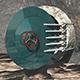 Bunker Door (Opened) - 3DOcean Item for Sale