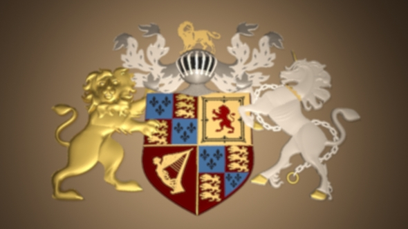 Royal 3D Crest - 3DOcean Item for Sale