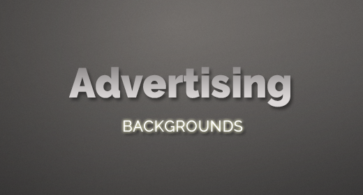 Advertising Backgrounds
