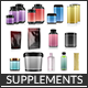 Complete Supplements 3d Models Pack - 3DOcean Item for Sale