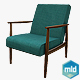 Retro Armchair - 3DOcean Item for Sale