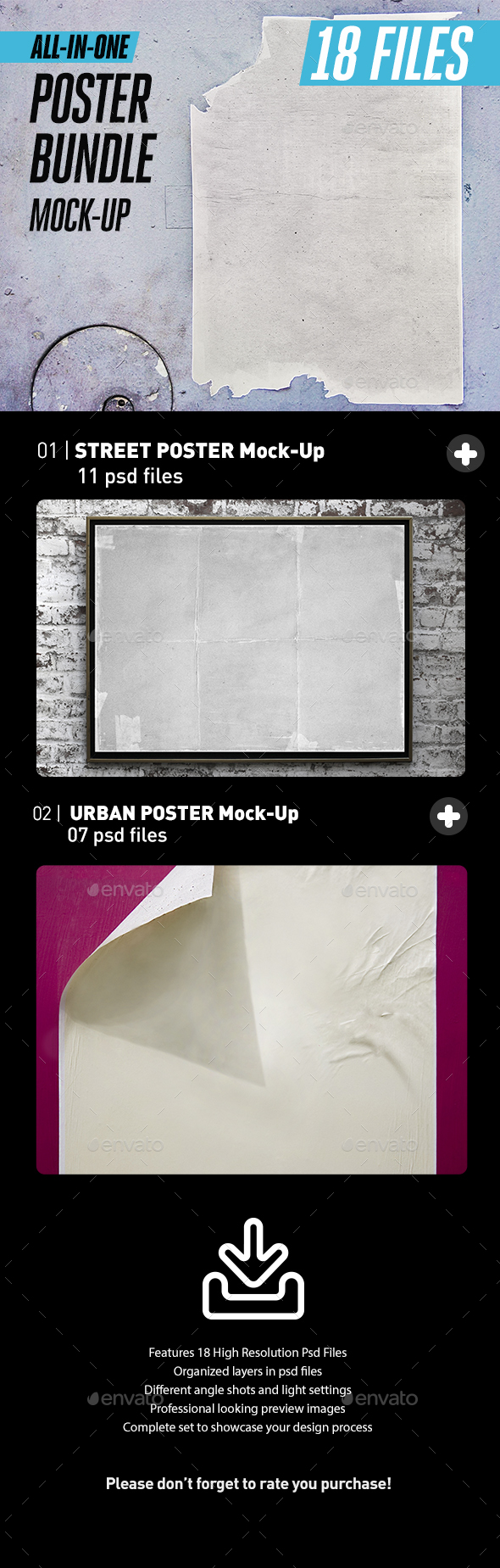 Street Urban Poster Bundle All-in-One - Posters Print