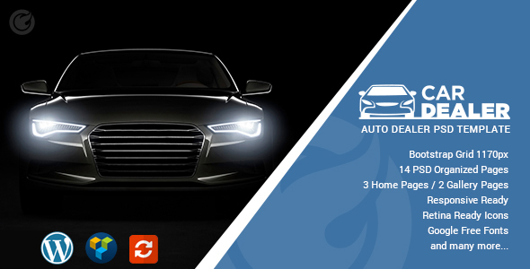 Car Dealer – Auto Dealing WordPress Theme