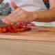 Cut The Tomato With Knife - VideoHive Item for Sale