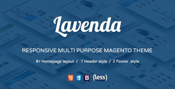 SNS Lavenda – Responsive Magento Theme