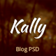 Kally - Personal Blog Template - ThemeForest Item for Sale