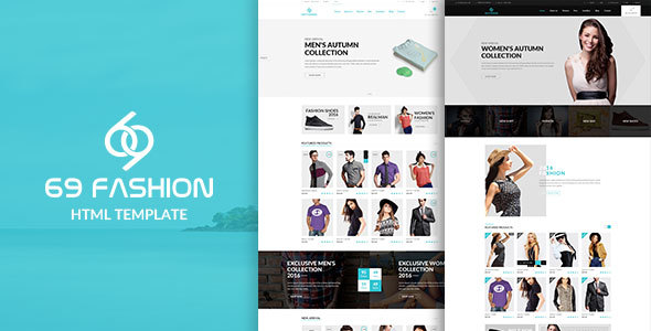 69 fashion - eCommerce Responsive Bootstrap Template - Fashion Retail