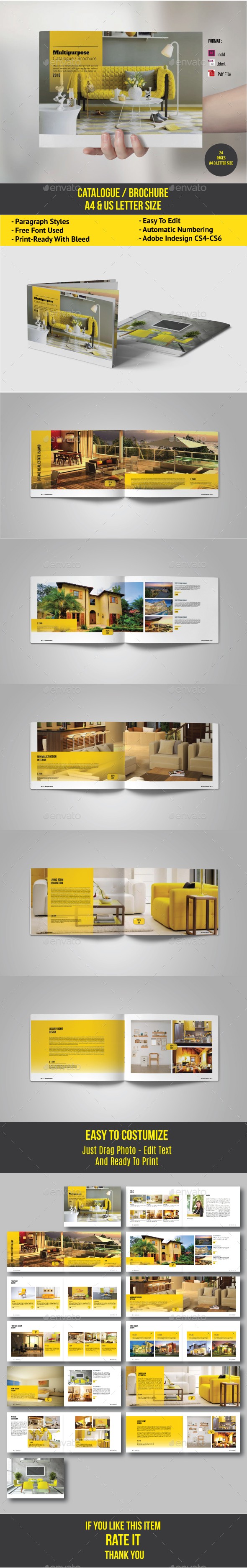 Clean & Modern Catalogue - Catalogs Brochures
