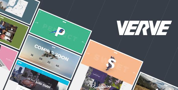 Verve – Agency & Portfolio PSD Template