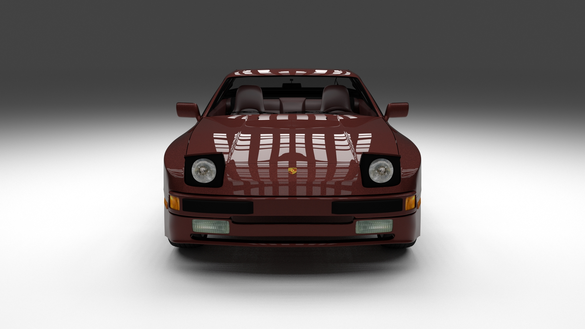 Porsche 944S w Interior HDRI