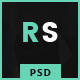 Revo Studio - One Page PSD Template