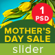 Mother's Day Sale Slider - GraphicRiver Item for Sale