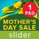 Mother's Day Sale Slider - GraphicRiver Item for Sale