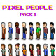 Pixel Art People Pack 1 - GraphicRiver Item for Sale