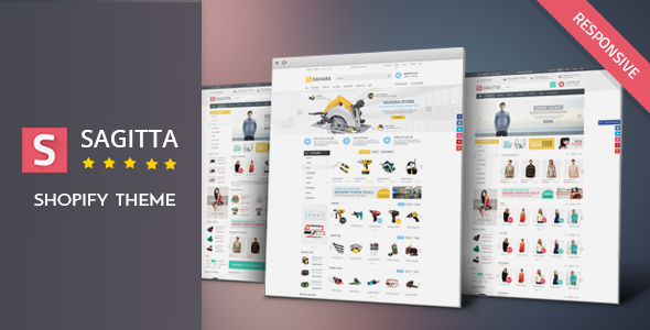 Image of Sagitta - Responsive Shopify Theme