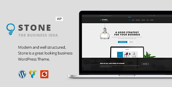 Stone – Responsive Business WordPress Theme