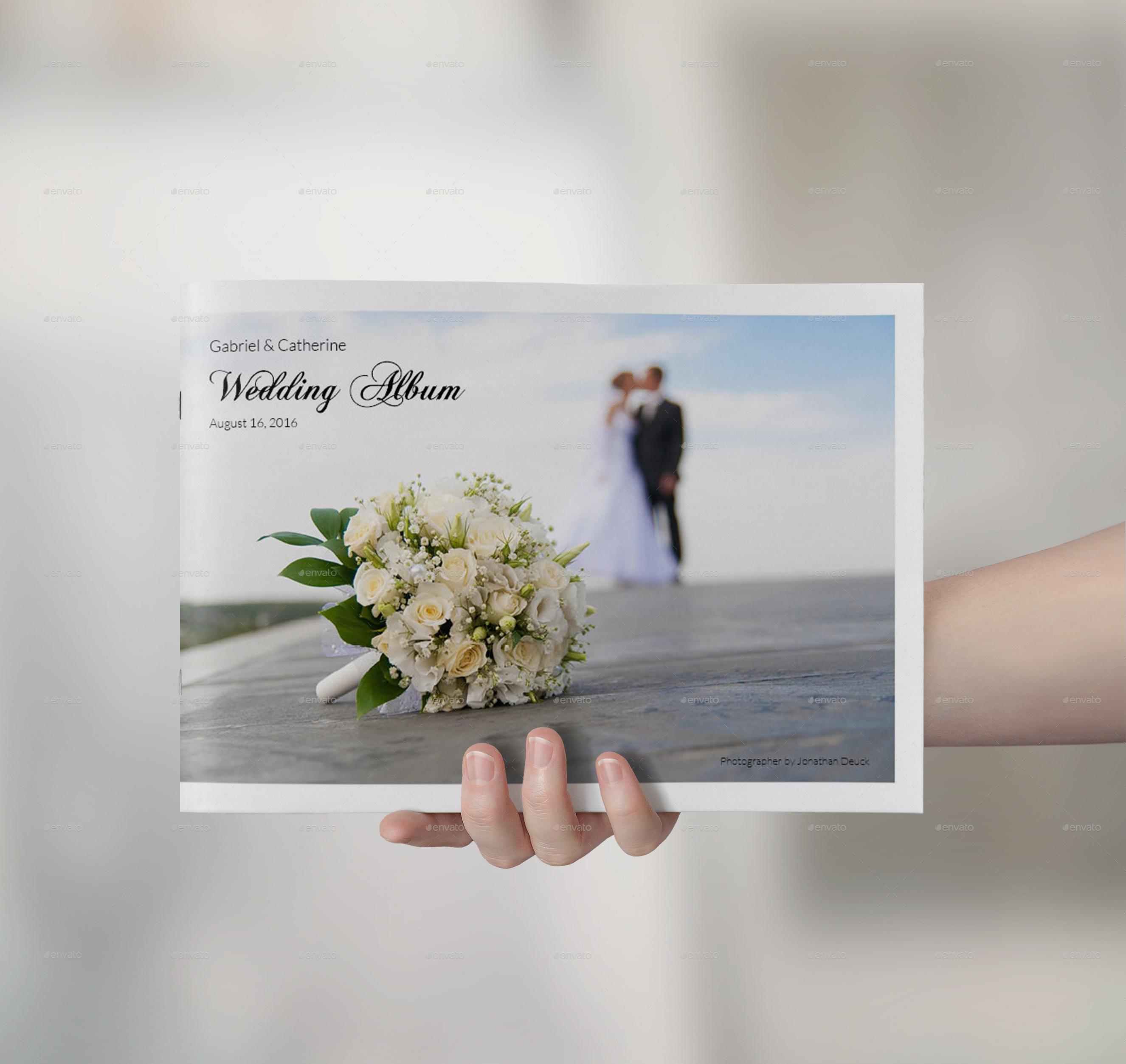 Landscape Photo Album: Landscape Wedding Album By Bookrak