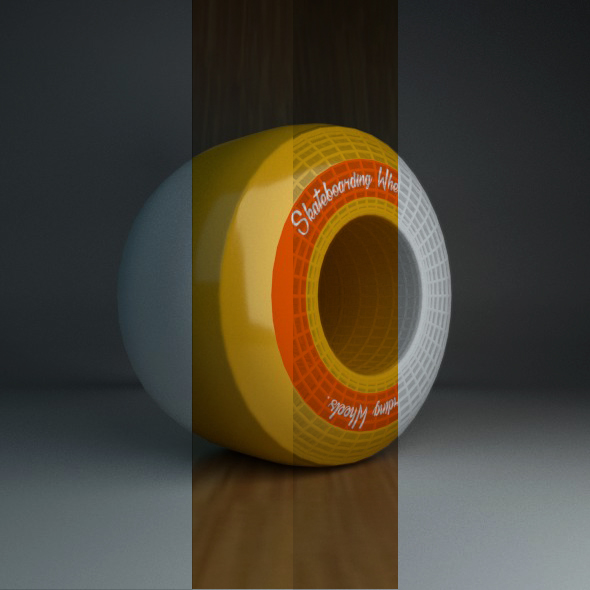 Skateboard Wheel - 3DOcean Item for Sale