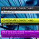 Corporate Lower Third - VideoHive Item for Sale