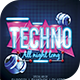 Tecno Party Flyer Template - GraphicRiver Item for Sale