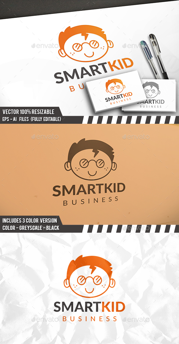Smart Face Logo - Humans Logo Templates
