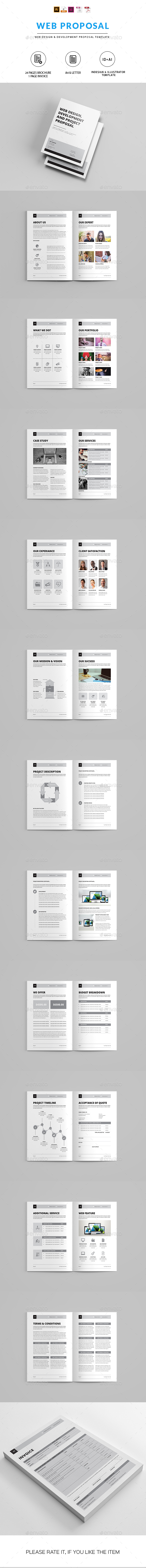 Minimal Proposal Template - Proposals & Invoices Stationery