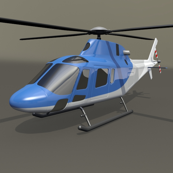 Agusta Westland aw119 Koala helicopter - 3DOcean Item for Sale