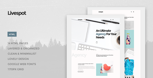 Livespot - Creative Agency HTML Theme - Site Templates