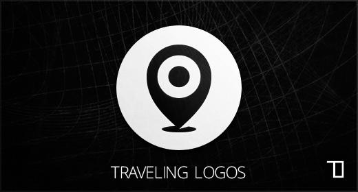 Traveling logos