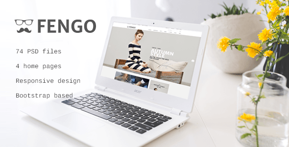 Fengo - Responsive eCommerce PSD Template - Retail PSD Templates