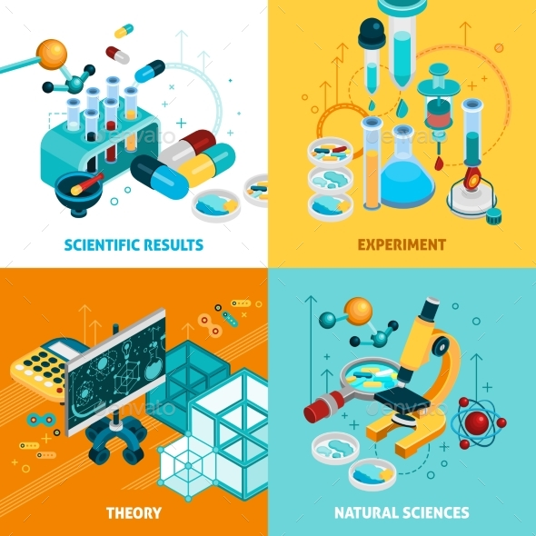 Science Concept Icons Set  - Health/Medicine Conceptual