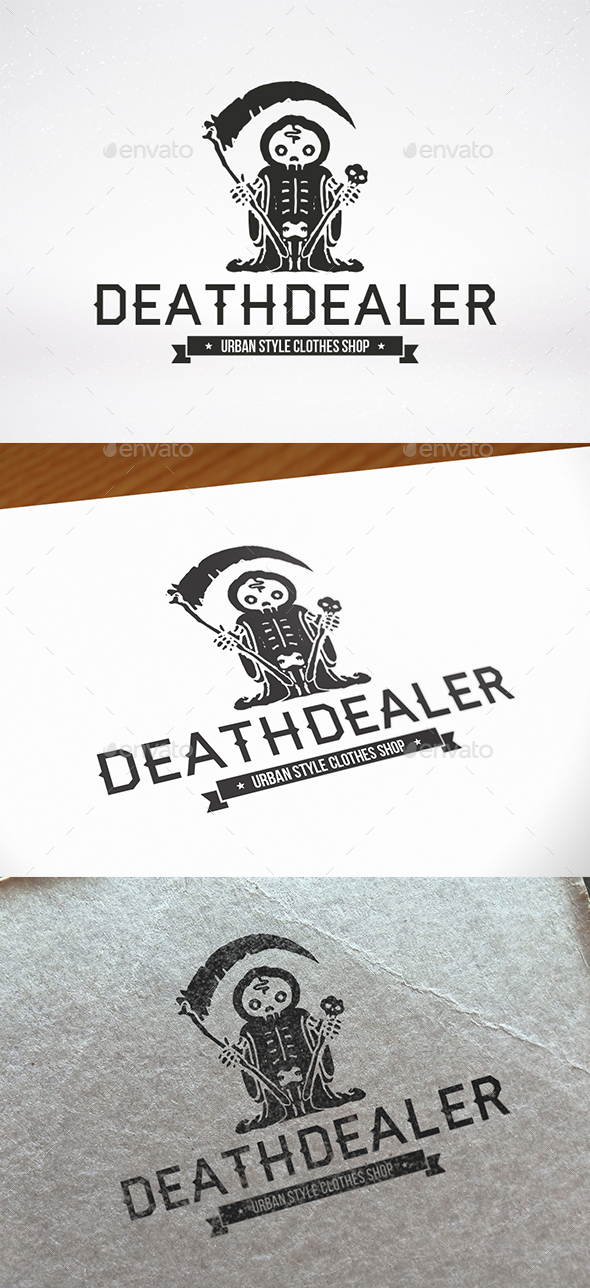 Death Dealer Logo Template - Humans Logo Templates