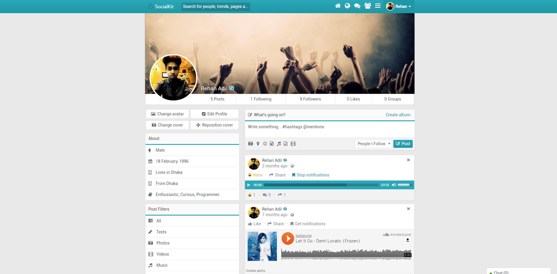SocialKit grátis download screenshot 1