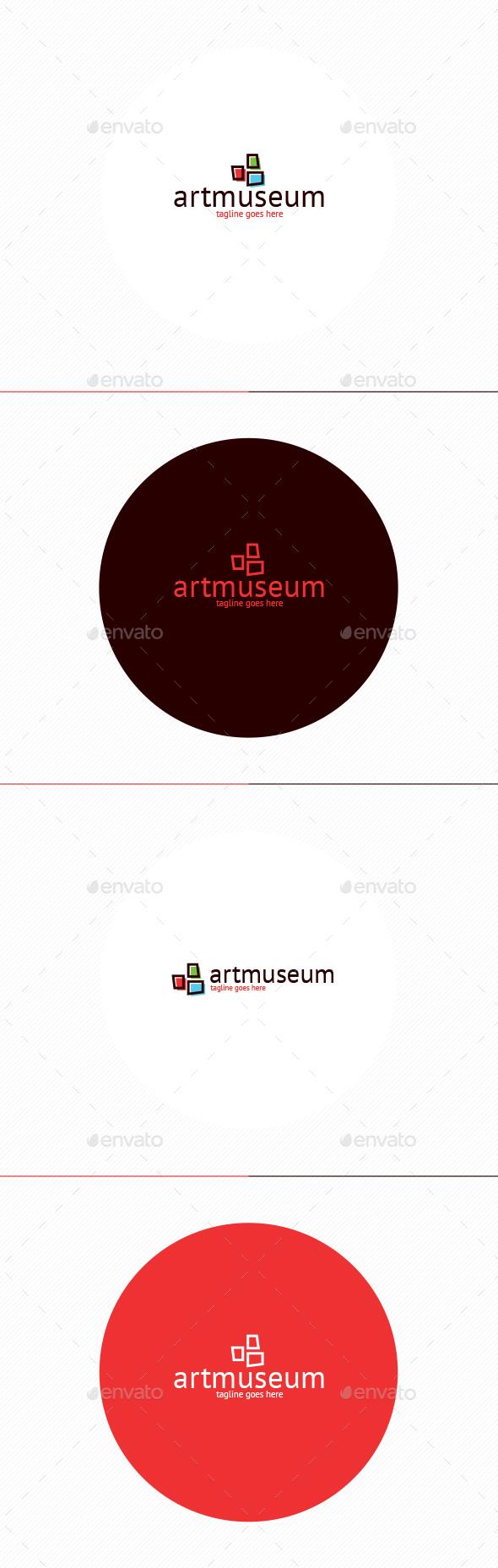 Art Museum Logo - Symbols Logo Templates