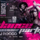 Dance Party Flyer Horizontal - GraphicRiver Item for Sale