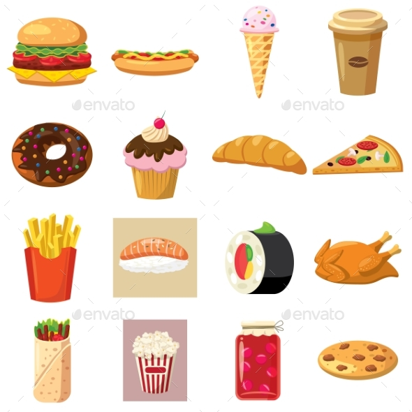 Food Set Icons - Miscellaneous Icons