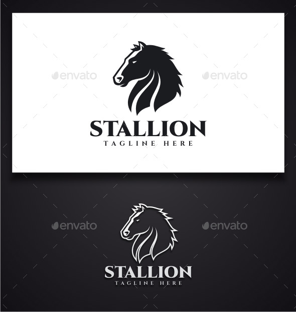 Horse Logo - Animals Logo Templates
