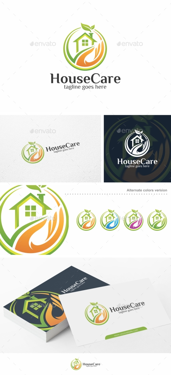 House Care - Logo Template - Buildings Logo Templates