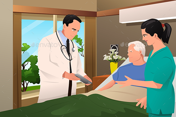 Doctor Talking to His Patient - Health/Medicine Conceptual